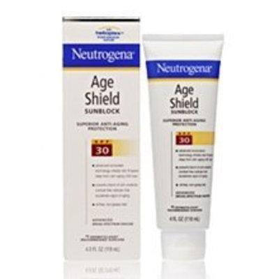 Neutrogena® Age Shield Sunblock with Helioplex SPF 30