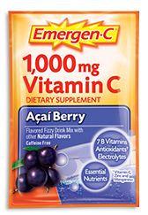 Emergen-C 1,000 mg Vitamin C Acai Berry