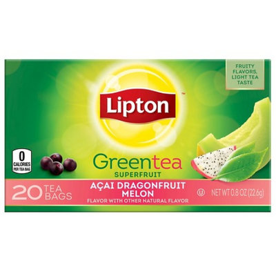 Lipton® Green Tea Superfruit Acai Dragonfruit Melon