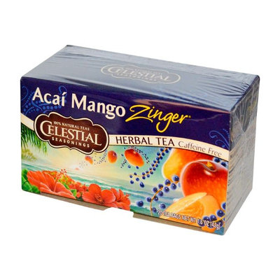 Celestial Seasonings® Acai Mango Zinger Herbal Tea Caffeine Free