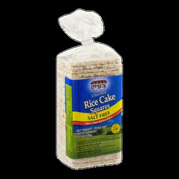 Paskesz Ultra-Thin Rice Cake Squares Salt Free