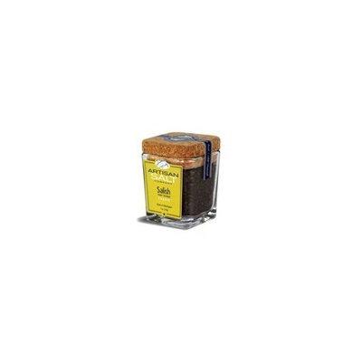 Saltworks Salish Alderwood Smoked Salt (Coarse) - Cork Jar