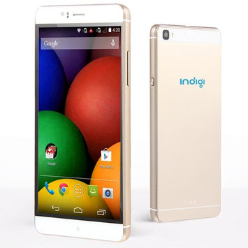 Indigi 2016 3G GSM Smartphone 6 Metal Frame Android 5.1 WiFi Camera AT & T Unlocked Gold