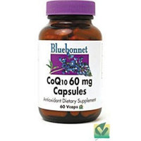 BlueBonnet CoQ-10 Vegetarian Capsules, 60 mg, 90 Count