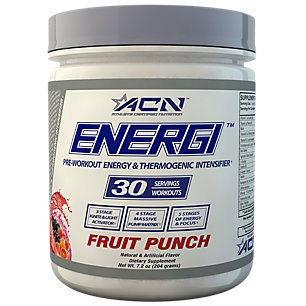 Athlete Certified Nutrition Energi