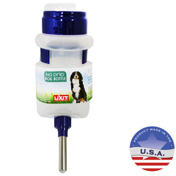 Lixit Corporation Lixit DLX0686 No-Drip Dog Water Bottle 44Oz Top-Fill