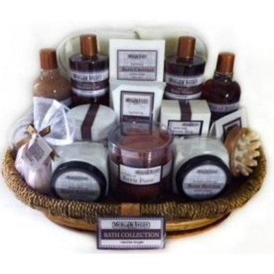 Morgan Avery Bain D'Esprit Bath Collection Gift Basket, Vanilla Sugar