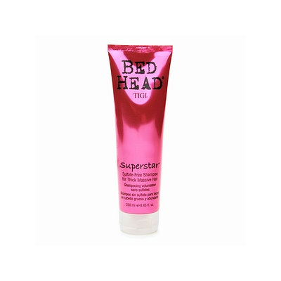 Bed Head Superstar Sulfate Free Shampoo For Thick Massive Hair
