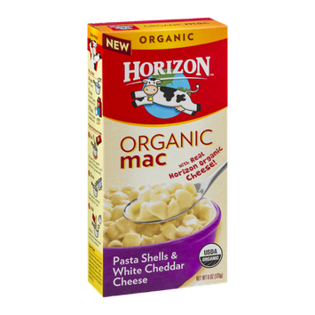 Horizon Organic Mac Pasta Shells & White Cheddar Cheese