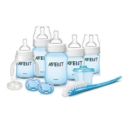 Philips Avent Classic Tinted Blue Newborn Gift Set