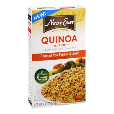 Near East Quinoa Roasted Red Pepper & Basil Blend