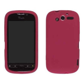 Wireless Solutions HTC myTouch 4G Silicone Gel Skin Case - Red