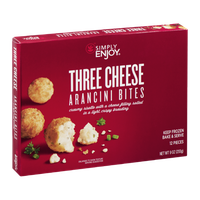Simply Enjoy Three Cheese Arancini Bites - 12 CT