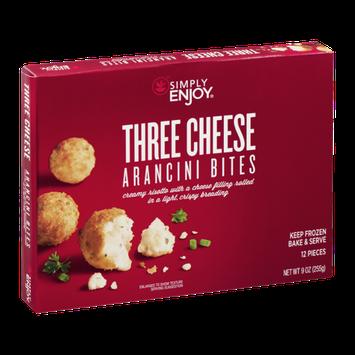 Simply Enjoy Three Cheese Arancini Bites - 12 CT