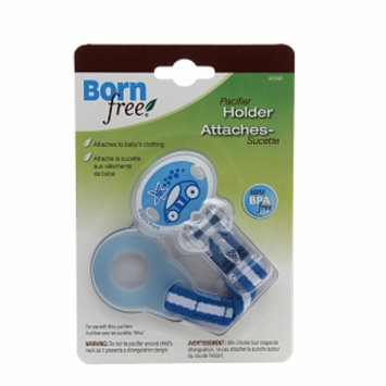 BornFree Pacifier Holder, Blue, 1 ea
