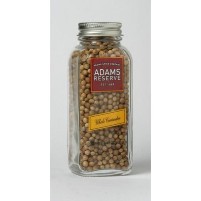 Adams Extracts Coriander, Whole, 1.44-Ounce Glass Jar (Pack of 6)