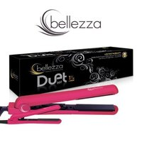 Bellezza Duet Flat Irons, Metallic Pink