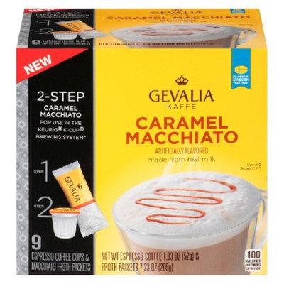 Gevalia Caramel Macchiato Espresso Single Cups 9 ct