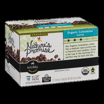 Nature's Promise Organics Organic Colombian Coffee K-Cup Packs Medium Roast - 12 CT