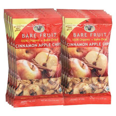 Bare Fruit Bake-Dried Fruit Chips Cinnamon Apple,12 Pack