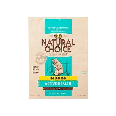 Natural Choice Cat Natural Choice Oceanfish Flavor Indoor Active Health Adult Cat Food, 3-1/2-Pound