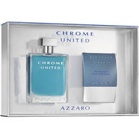 Azzaro Chrome United for Men Fragrance Gift Set, 2 pc