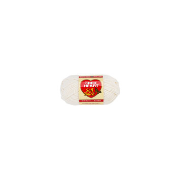 Hrl Red Heart Soft Touch Yarn-Cream