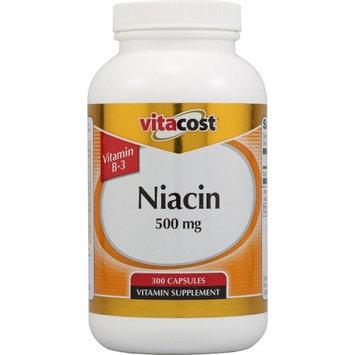 Nutraceutical Sciences Institute  NSI NSI Vitamin B3 (Niacin) -- 500 mg - 300 Capsules