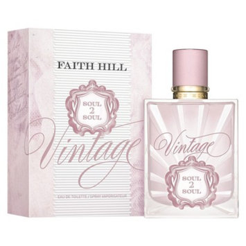 Women's Soul2Soul Vintage by Faith Hill Eau De Toilette - 1 oz