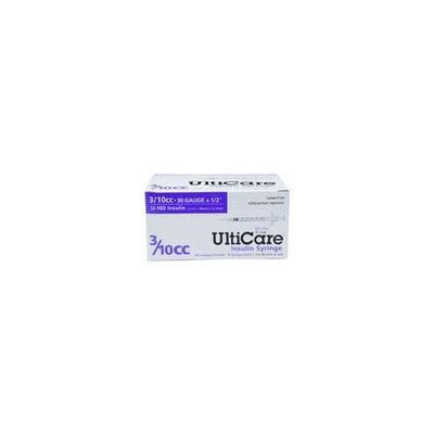 UltiCare UltiCare Insulin Syringe - 3/10cc, 30g x 1/2