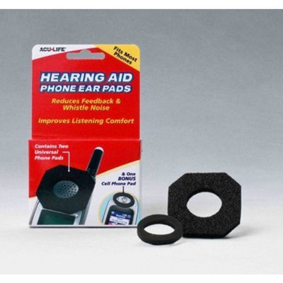 Health Enterprises Hearing Aid Phone Pads