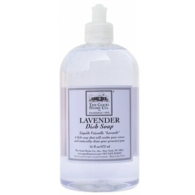 The Good Home Co. The Good Home Dish Soap, Lavender, 12 Ounce