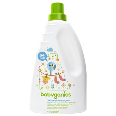 BabyGanics Loads of Love 3X Concentrated Laundry Detergent