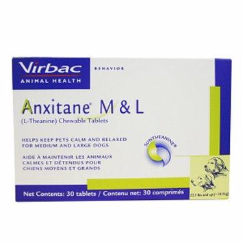 Virbac Anxitane Chewable Tablets Medium & Large dogs, 30 ea