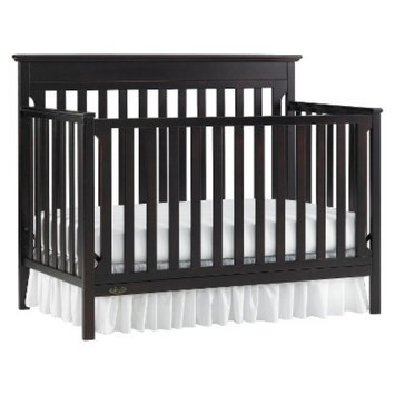 Graco Mason 4-in-1 Convertible Crib - Espresso