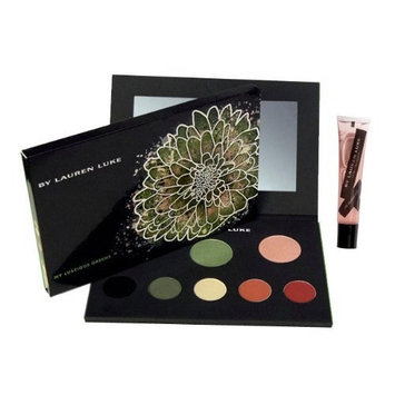 Lauren Luke Lauren Luke Full Face Makeup Palette and My Glossy Lips, Ll801-02 My Luscious Greens, 11.4 Ounce
