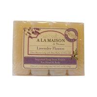 A La Maison 1015718 Bar Soap Lavender Flower Value 4 Pack