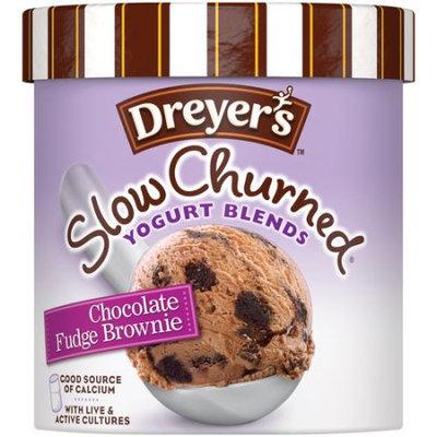 Edy's Slow Churned Yogurt Blends Chocolate Fudge Brownie