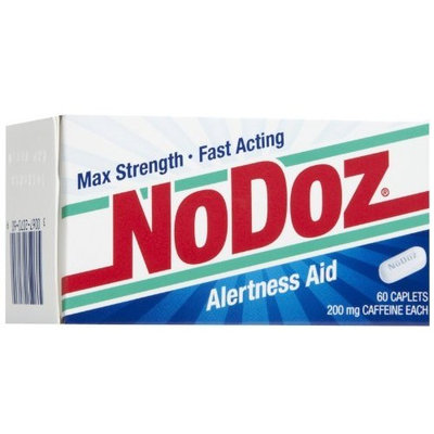 No Doz No-Doz Max Strength Fast Acting Alertness Aid, 60 Caplets
