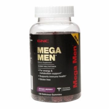 Gnc GNC Mega Men Gummy Multivitamin - Mixed Berry