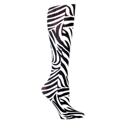 Celeste Stein Zebra 15-20 mmhg Compression Sock