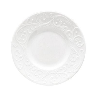 Lenox Dinnerware, Opal Innocence Carved Party Plate