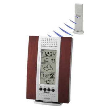 La Crosse Technology La Crosse Wood Indoor/Outdoor Thermometer WS-7014CH-IT