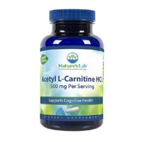 Nature's Lab Acetyl L-Carnitine HCl, 500mg