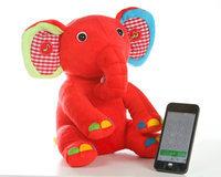 Kumki Bluetooth Multifunction Elephant Plush Toy