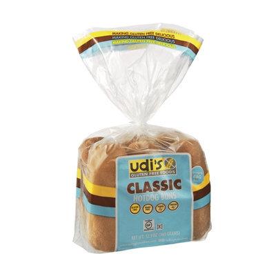 Udi's Gluten Free Classic Hotdog Buns - 6 CT
