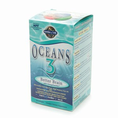 Garden of Life Oceans 3 Better Brain with OmegaXanthin