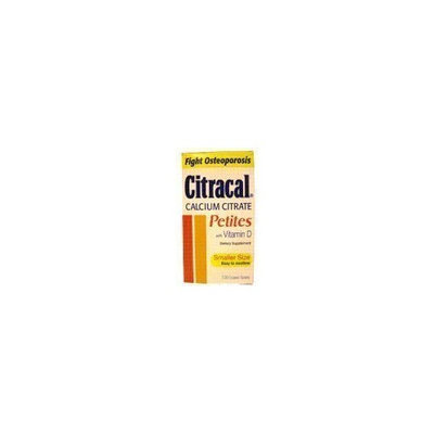 Citracal Calcium Citrate Petites With Vitamin D - 100 Coated Tablets
