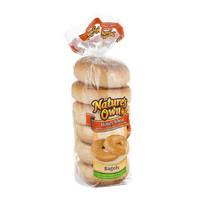 Nature's Own Bagels Honey Wheat - 6 CT