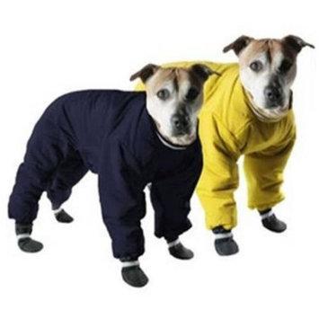 Muttluks Reversible Dog Snowsuit in Yellow/Black 10